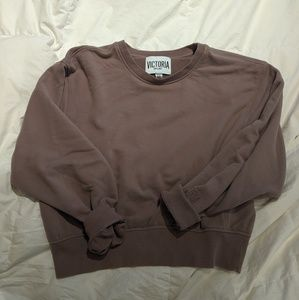 Victoria Sport Crop Crewneck Sweatshirt